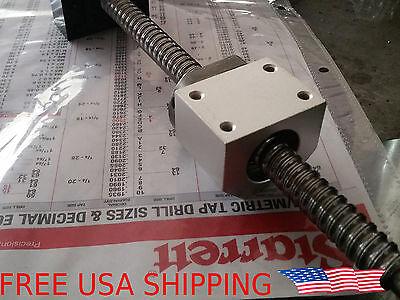 SFU1605 SFU RM 1605 1610 for RM1605 Ballscrew Ballnut Housing Mount Bracket USA