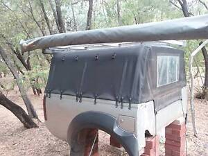 Navara D22 Touring/Camping Setup-Tub, Canvas Canopy, Drawers etc Australind Harvey Area Preview