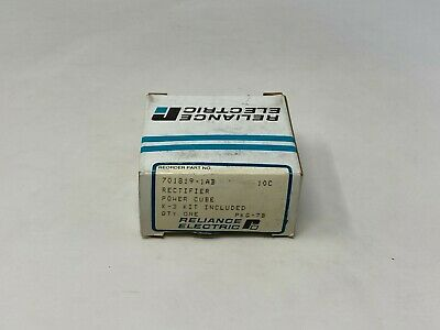 New Reliance Rectifier Silicon Power Cube 701819-1ab Free Shipping