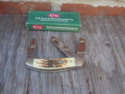 Case XX TB6339 Sowbelly Knife Mint With Original Box Gunsmiths Estate
