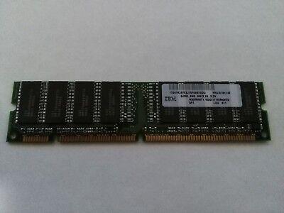 IBM 64MB 100MHz 8MX64 3.3V 168-PIN NP SDRAM Dimm Memory Module 100mhz Sdram 168 Pin