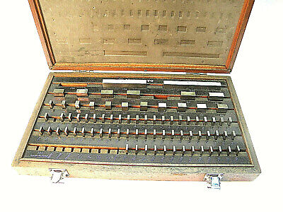 Mitutoyo Gauge Gage Block Set 516-904 Machinist Precision Inspection Tools