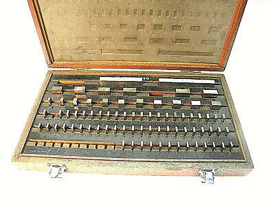 Mitutoyo Gauge Gage Block Set 516-904 Machinist Precision Inspection Tools