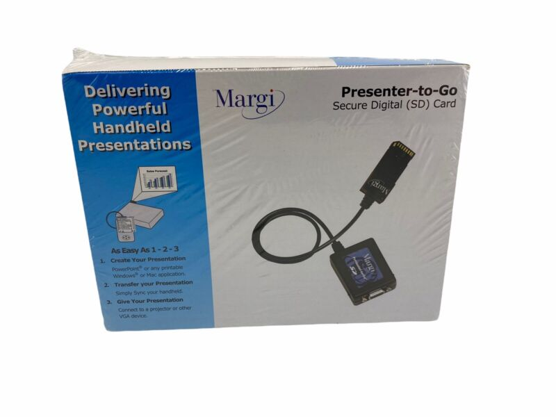 Margi Presenter-to-Go  Secure Digital (SD) Card  24001 New Sealed Free Shipping