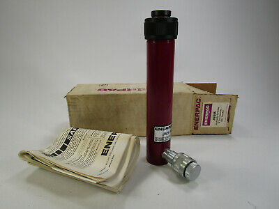 New Nos Enerpac Jss-55 Hydraulic Cylinder 5 14 Stroke 5 Ton C-55 5.25