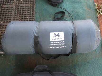 Mannagum king size single bed, self inflating