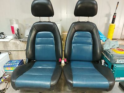 Mazda MX-5 Mk2 Leather seats With headrests in good condition.