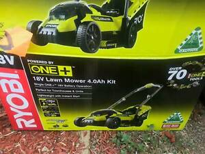 Battery operated mower