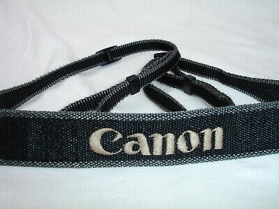 CANON CAMERA NECK STRAP - Grey , plastic buckles #7606