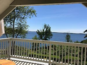 1 bedroom,  St. Lawrence view, quiet neighborhood, close to CFB