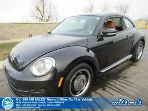 2015 Volkswagen Beetle Classic - Manual, Navigation, Bluetooth,