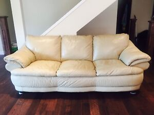 High quality all leather couch