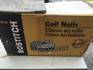 """Bostitch coiled nails 3 1/4"""""""