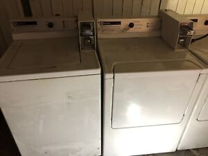 COIN OPERATED MAYTAG WASHER/DRYER