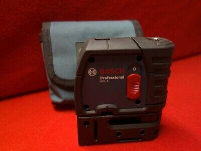 Bosch Gpl 3 S 100 Ft 3-point Self-leveling Alignment Laser W Nylon Storage Case
