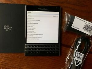 LNIB - Blackberry Passport SQW100-1 Black