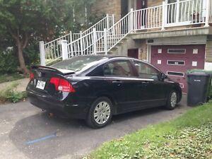 Honda Civic 2007 automatique 178 500 km