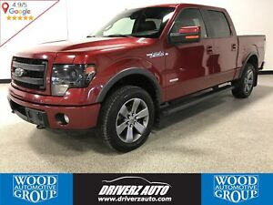 2013 Ford F-150 FX4 4X4, REMOTE START, LEATHER