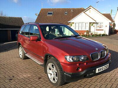 BMW X5 3.0 D Sport Auto 2002 Low Milage
