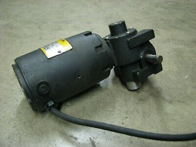 Baldor Electric Dc Gear Motor 110 Hp 30 Rpm 13621j