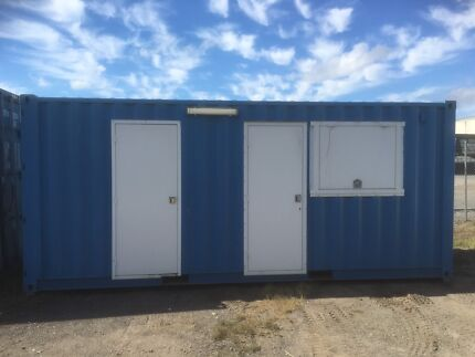 Donga Site office accomodation portable Shipping Container