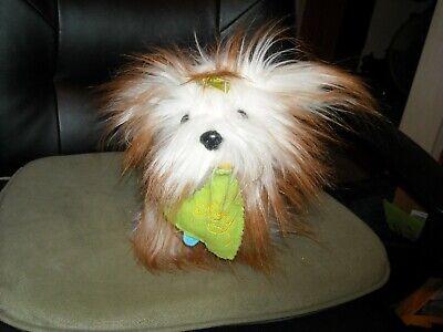 Dandee collectors choice plush shih tzu Yorkshire terrier dog puppy 10 X 8