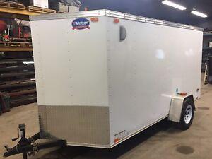 2014 United 6x12 enclosed trailer