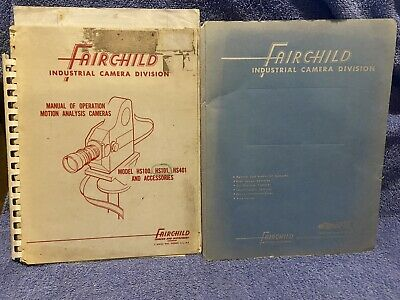 Fairchild Industrial Camera Div. Motion Analysis Cameras 1958 Hiller Helicopter