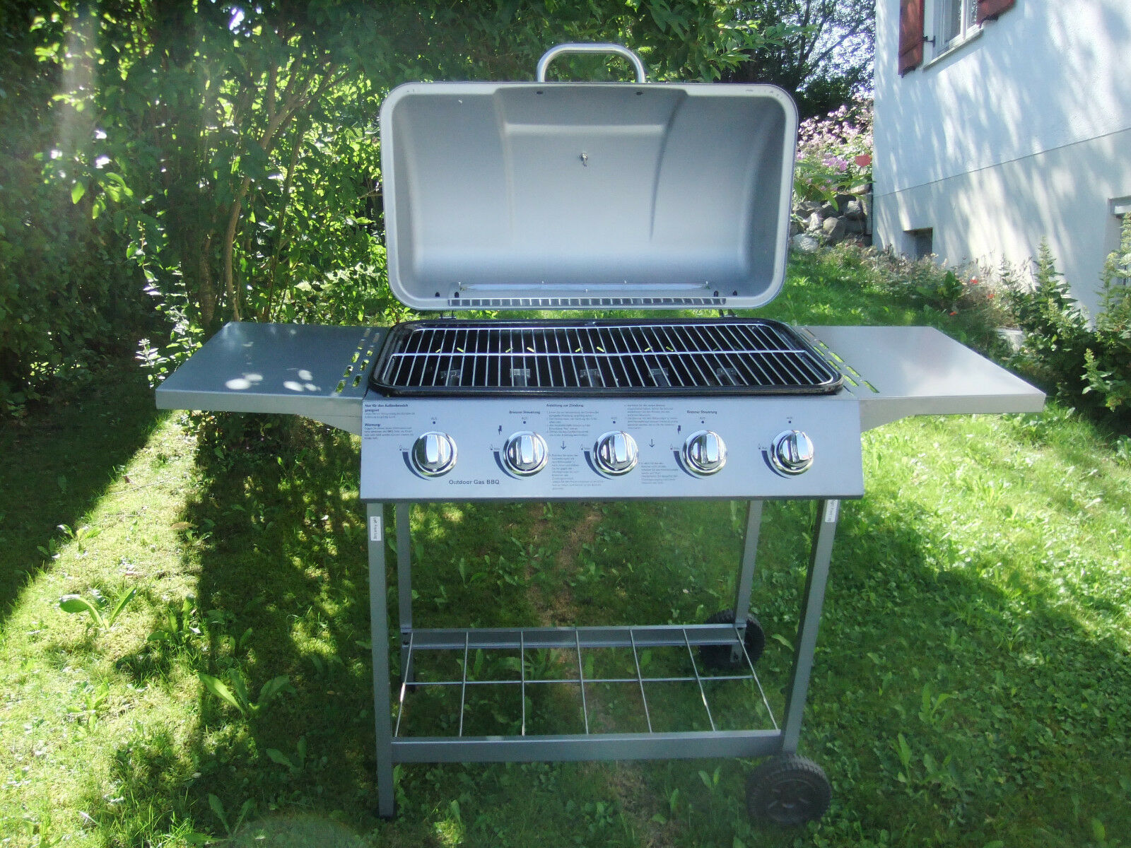 Gasgrill Broilmaster BBQGL04 (ohne Gasflasche)