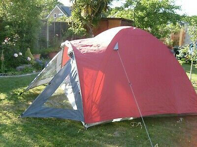 dome tent with small porch  3 man