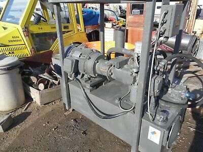 Hydraulic Power Unit 20hp1170rpm3ph208-230460oilgear Pvwh 45 Ldfy Cnnntkd