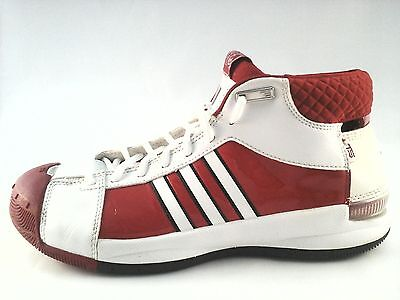- Adidas Team Signature TS Believe Pro Model Men Boys Shoes Wh Red US 7.5 Rare