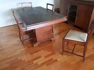 Antique Dining set plus side buffet Langwarrin Frankston Area Preview