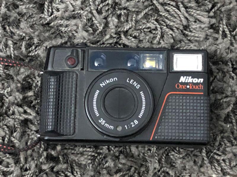 Nikon One Touch  L35AF (2nd Gen) Point &Shoot Film Camera w/ 35mm f2.8 Lens