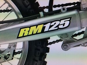 RM125 Suzuki for sale