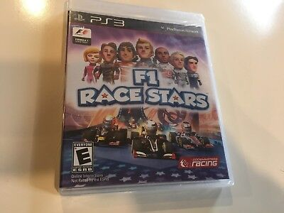 NEW - F1 Race Stars PS3 Sony PlayStation 3 - RACING GAME - SEALED -FREE SHIPPING for sale  Barnum