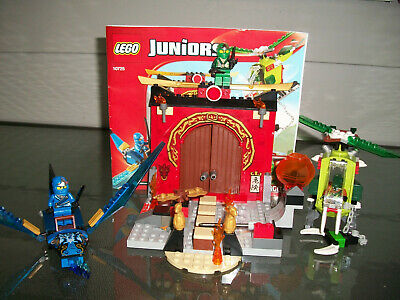 Lego 10725 Juniors Ninjago Lost Temple w/instructions