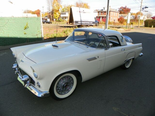 Ford : Thunderbird 1956 FORD THUNDERBIRD 312 4 BBL. AUTO FULL POWER OPTIONS BOTH TOPS CONTINENTAL K