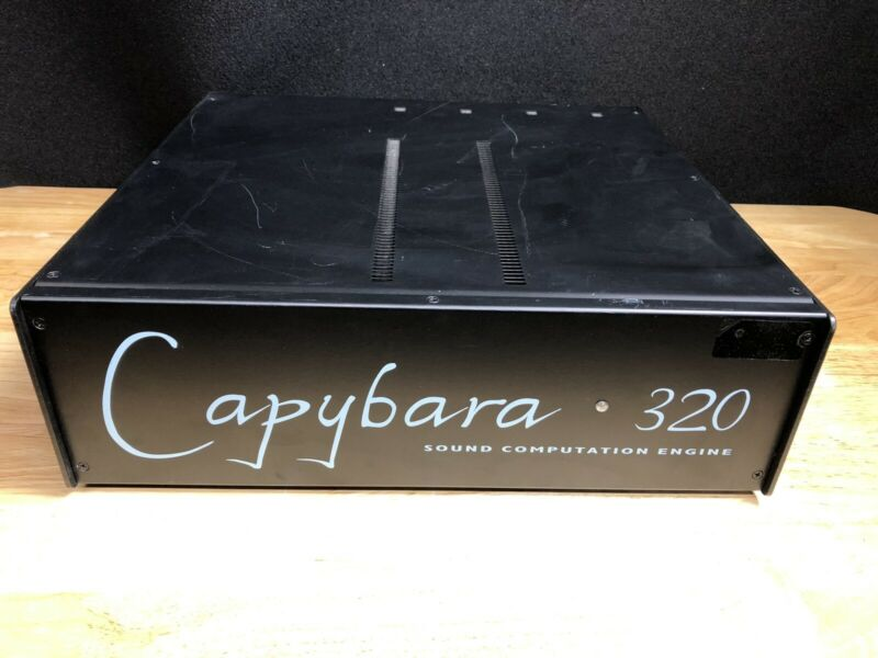 Symbolic Sound KYMA CAPYBARA 320 System Music Synthesizer. Sound Design. JHB7