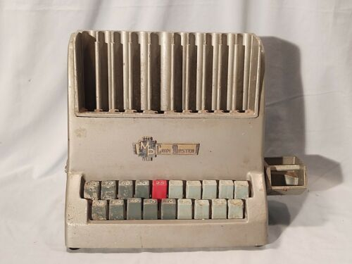 Vintage Coin Master, Automatic Coin Changer, Bank Automatic Cashier