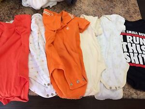 LOT OF SUMMER BABY CLOTHES