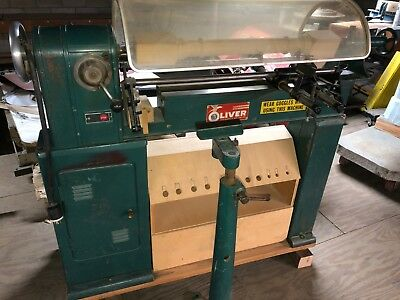 Oliver 167-w Lathe 12 X 48 Wood Lathe With Duplicator