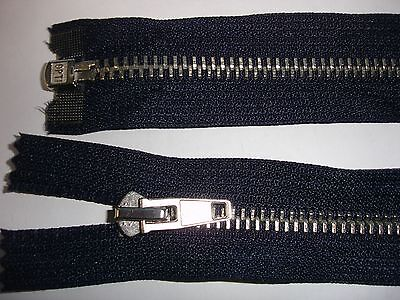 RV 318 Reißverschluß opti dunkelblau 68cm, teilbar 1 Stück