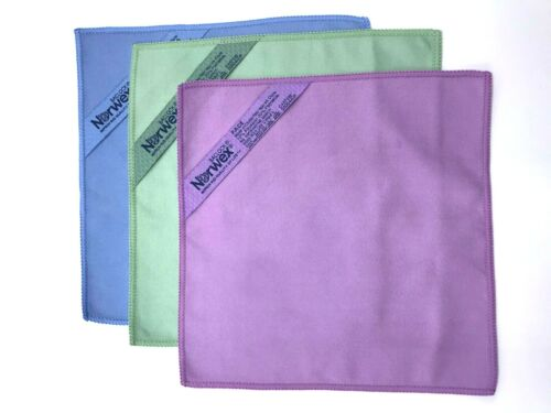 Norwex Microfiber Makeup Removal Cloth Set (pack of 3), ALL NEW