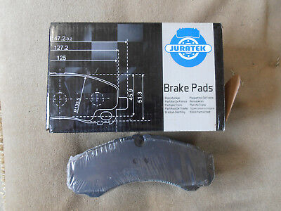 IVECO DAILY FRONT BRAKE PADS ALL MODELS MK2 1999 ON JCP1315