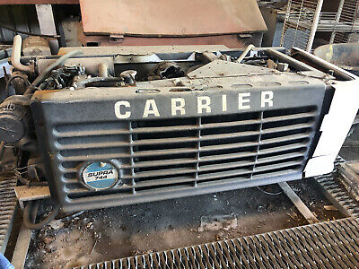 Carrier Transicold Supra 744 Refrigeration Truck Box Unit Reefer