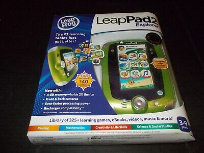 Leap Frog Leapfrog LeapPad2 Explorer Disney Green Kids Toy Tablet New Sealed  for sale  Shipping to India