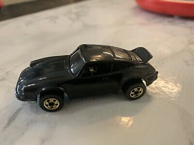 VINTAGE HOT WHEELS 1974 P911 P 911 PORSCHE BLACK BW GOLD WHEELS HK RARE HTF