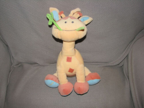 NEUROSMITH STUFFED PLUSH GIRAFFE MUSICAL CRIB PULL TOY BABY LOVEY LULLABY