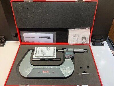 Spi 13-736-4 5-6 Digital Outside Micrometer Res. 0.00005